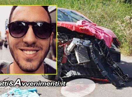 Lucca Sicula. È morto il 22enne coinvolto nell'incidente sulla Sp88 a Caltabellotta con altri 3 giovani