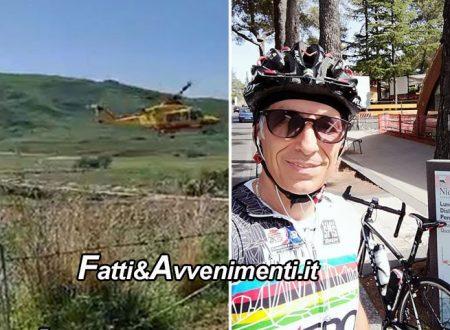 """Licata. Auto travolge ciclista: trasportato in elisoccorso, muore poco dopo l'arrivo al """"S.Elia"""""""