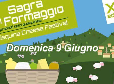 """S.Stefano Quisquina. Domenica 9 """"Quisquina chesse festival"""" XXI edizione Sagra del formaggio: ecco il programma"""