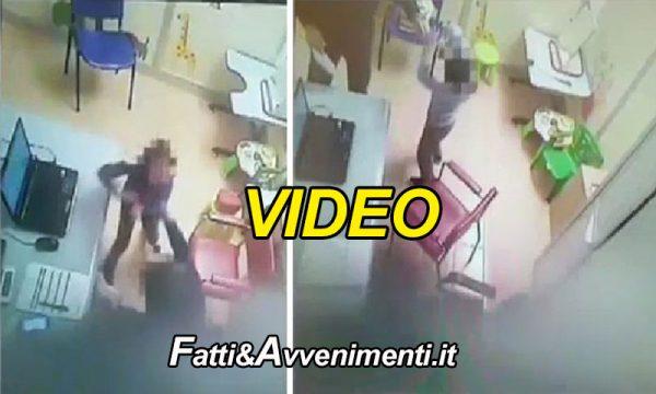 Milazzo (ME). Logopedista prende a schiaffi i bimbi: sospeso per 10 mesi – il video con le violenze