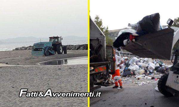 Sciacca. Avviata rimozione rifiuti e pulizia spiagge: già pulite Makauda e Tonnara, proseguono interventi