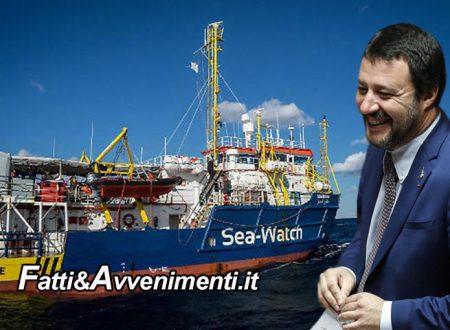"""La Corte di Strasburgo boccia ricorso Sea Watch 3: """"No sbarco migranti in Italia"""", vince la linea Salvini"""