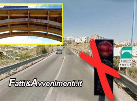 Porto Empedocle. Da sabato 15 il viadotto Salsetto torna a doppio senso di circolazione: addio a file chilometriche