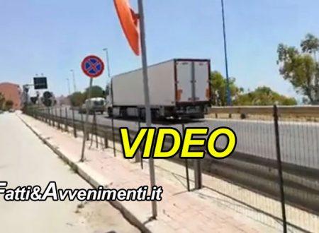 Porto Empedocle. Allarme Viadotto Salsetto: nonostante il divieto i mezzi pesanti continuano a passare