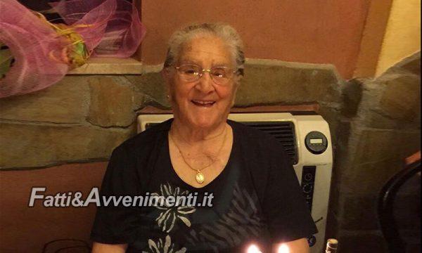 Caltabellotta (Ag). La nonnina Calogera Intermaggio oggi compie 101 anni