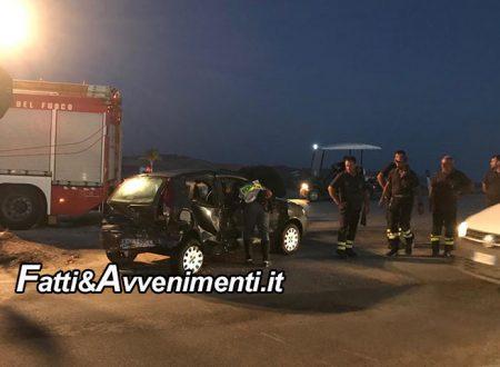 Sciacca. Grave incidente SS115 nei pressi bivio Rocco Forte: 4 auto coinvolte e diversi feriti – VIDEO