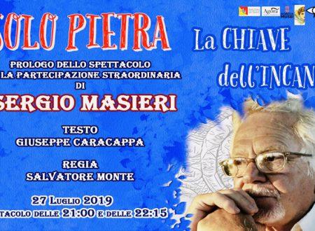 """Sciacca. """"La Chiave dell'Incanto"""" il 27 Luglio al Castello Incantato con Sergio Masieri"""