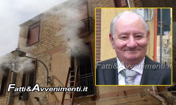 Naro. Scoppia incendio in un'abitazione: muore un 82enne, figlia salvata dai Vigili del Fuoco