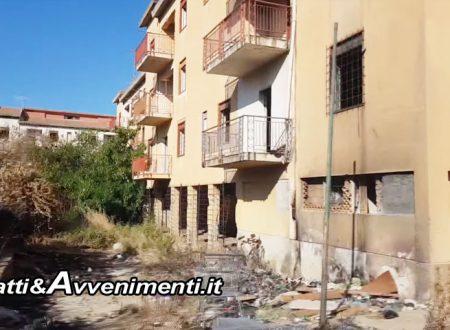 Ribera. Iniziata stamani bonifica case popolari di Via Fani: molto degrado, ma nessun occupante abusivo