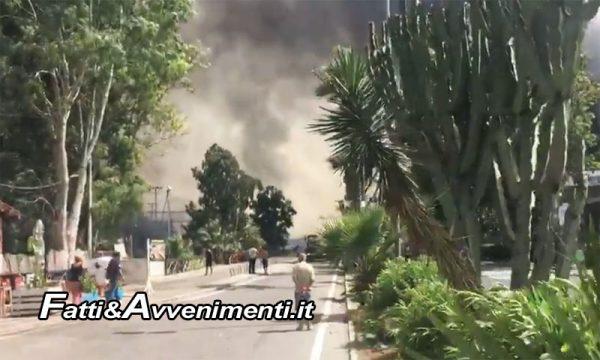 Vento caldo sulla Sicilia: incendi da Palermo a San Vito Lo Capo, a Catania scene apocalittiche – VIDEO
