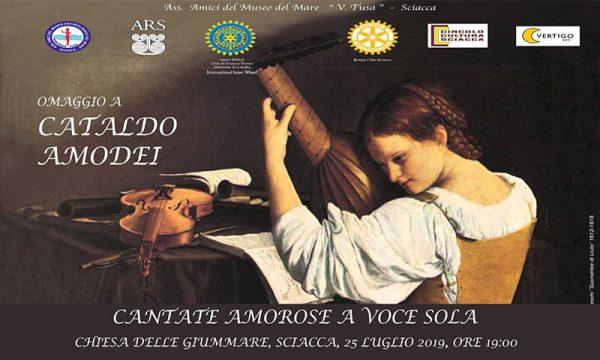 Sciacca. Giovedì 25, concerto omaggio a Cataldo Amodei: l'ingresso è gratuito