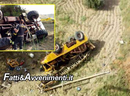 Incidente sulla SS 115. Un camion vola da un ponte: interviene l'elisoccorso, grave il conducente
