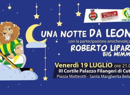 """S. Margherita Belice. Venerdì 19 in scena """"Una Notte da Leoni"""" spettacolo comico-musicale a scopo benefico"""