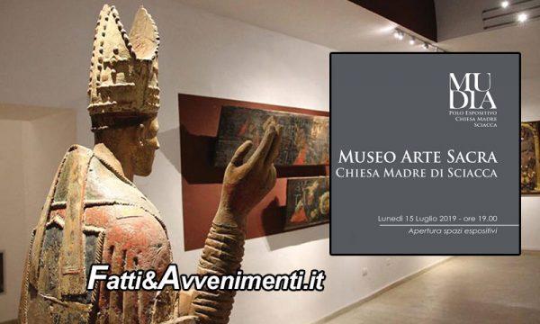 Sciacca. Lunedì 15 nella chiesa Madre inaugurazione del museo d'arte Mudia: ecco il percorso con i dettagli