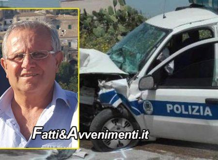Ribera. È morto Mimmo Musso l'ispettore di polizia municipale coinvolto in un incidente il 26 aprile scorso