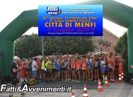 """Menfi. Podismo, 20° edizione """"Le strade del vino"""", 8° Trofeo Daniele Puccio"""": risultati, classifica e tempi"""