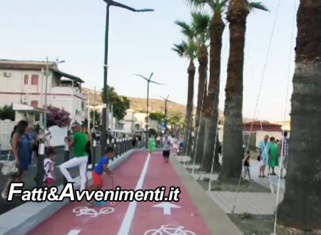 Porto Empedocle. Inaugurato lungomare 'Nettuno' soddisfatta sindaco Carmina, presente il regista Michele Guardì