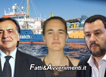 """Sea Watch. Orlando denuncia Salvini: """"Ha organizzato attentato alla sicurezza, Carola non aveva scelta"""""""