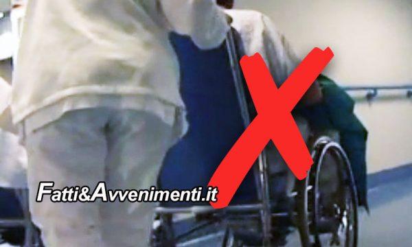"""Sciacca. Ospedale da mesi senza servizio """"sedie a rotelle"""": T.D.M. protesta con l'Asp di Agrigento"""