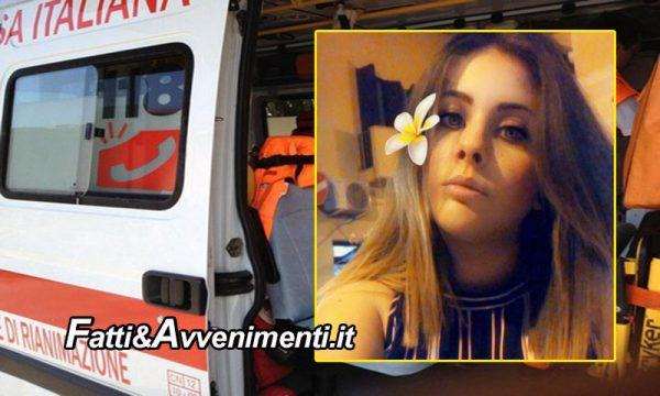 Santa Flavia (PA). Ragazza 21enne muore improvvisamente nel sonno