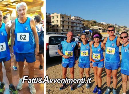 Polisportiva Agatocle di Sciacca ieri impegnata in diverse gare in Sicilia