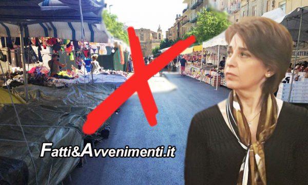 """Sciacca. Valenti: """"Fiera Ferragosto alle Terme per sicurezza"""", ma il principio vale anche per Piazza Scandaliato?"""