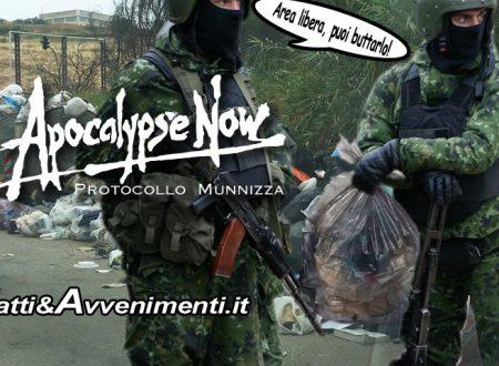 Sciacca. Surreale guerra dietro l'abbandono dei rifiuti: tra giustizieri della notte e banditi incappucciati