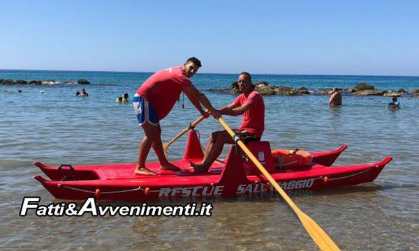 Sciacca. Bagnini salvano due donne ed una bambina di 8 anni nel mare di San Giorgio