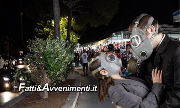 Sciacca. Ferragosto al viale delle Terme: tra smog e slalom tra auto, piante e bancarelle