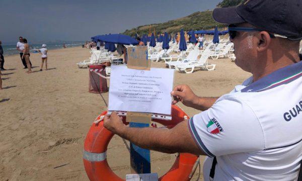 Menfi, Bertolino Mare. Guardia Costiera sequestra 2400 mq di arenile abusivamente occupato da struttura alberghiera