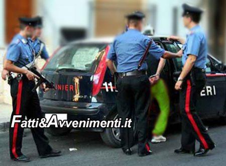 Agrigento. Arrestato 46enne favarese: Armato di coltello rapina un giovane in pieno centro storico