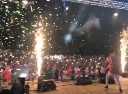 Ribera. Strepitoso successo per il concerto di Shade al Seccagrande Summer Fest