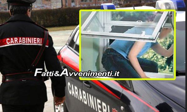 Adrano (CT). Segregata in casa dal convivente, fugge dalla finestra del bagno: arrestato un 40 enne
