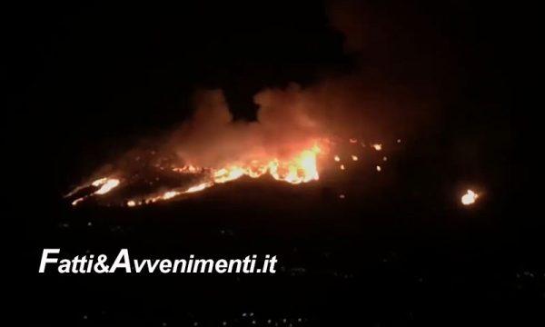 Vasti incendi nel palermitano, a Monreale sfollate 80 persone: Canadair ancora in azione