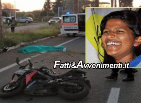 Aci Catena (CT).  Moto si schianta contro un albero: muore una 22enne seduta sul sedile posteriore
