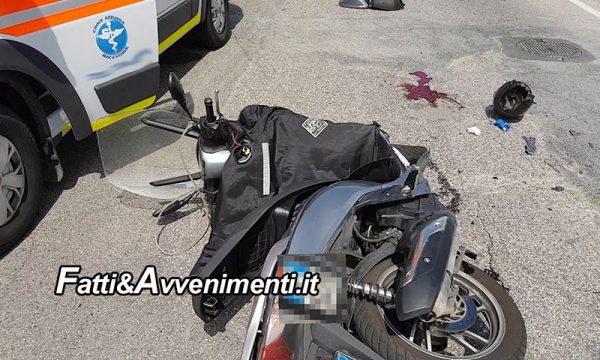 Modica (RG). Scontro auto moto con i conducenti drogati:  20enne perde braccio e gamba, 3 i feriti