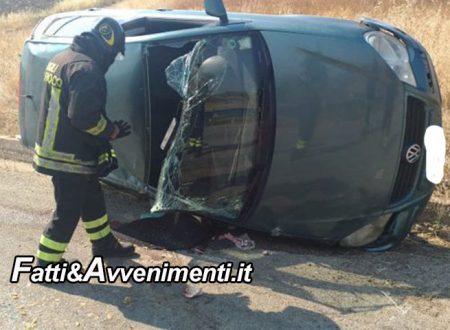 Joppolo Giancaxio (AG). Auto si ribalta: grave 13enne trasportato in elisoccorso a Palermo