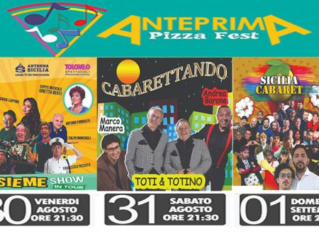 A Seccagrande torna l'Anteprima del Pizza Fest anticipazione dell'evento di settembre: cabaret, musica e gastronomia