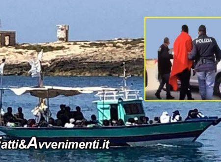 Lampedusa. Applicato decreto Salvini bis: arrestati 6 clandestini rientrati dopo espulsioni e respingimenti
