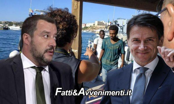 """Open Arms. Sbarco minori, Salvini: """"Dopo i malati immaginari, ecco i minorenni immaginari! Responsabilità di Conte"""""""