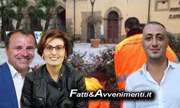 """Sciacca. Milioti, Bono e Santangelo: """"Non cediamo ai ricatti, situazione dei precari è colpa di Valenti"""""""
