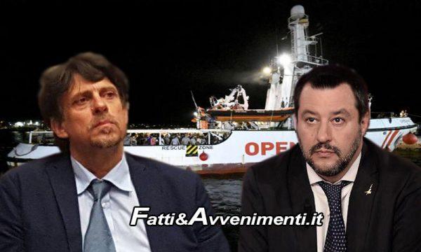 Spagna invia nave per prendere migranti ma la procura sequestra Open Arms e ordina sbarco: Salvini furioso