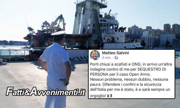 Dissequestrata Open Arms, 64 migranti sbarcano da Mare Jonio e Salvini indagato, il Senato come voterà?
