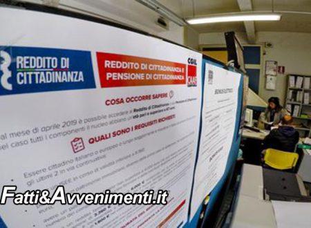 Reddito di cittadinanza, da lunedì 162mila siciliani convocati per accettare almeno 1 delle 3 offerte di lavoro proposte
