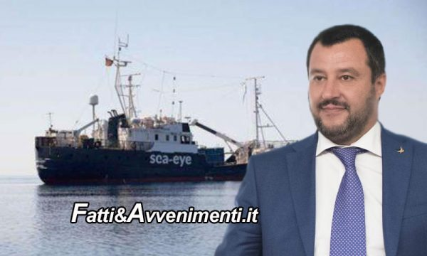 "Nave Ong Alan Kurdi ""molla"" e porta i migranti a Malta: la linea dura di Salvini trionfa"