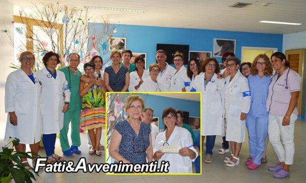 Ospedale Sciacca. La Rocca Ruvolo devolve un contributo di 1000 euro all'associazione onlus Avulss