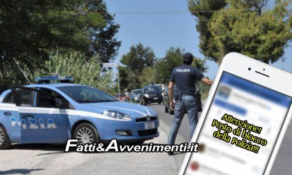 Catania. Segnalavano posti di blocco Polizia su Facebook: un 31enne e un 50enne denunciati