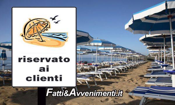 """Sicilia Covid-19. M5S: """"No riduzione spiagge libere per darle ai privati, non tutti possono pagare per fare il bagno"""""""