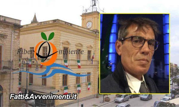 """Ribera. Francesco Tramuta sarà l'amministratore unico della società' partecipata """"Riberambiente"""" s.r.l."""