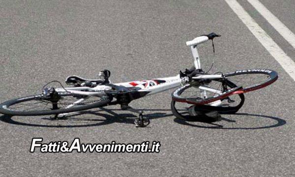 Monreale (PA). Si schianta con la bici contro un palo: muore un ragazzo 19enne. Inutili i soccorsi